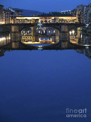 Photograph - Firenze Blue IIi by Kelly Borsheim