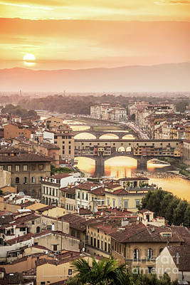 Photograph - Firenze by Delphimages Photo Creations