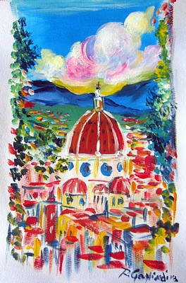 Painting - Firenze Italia by Roberto Gagliardi