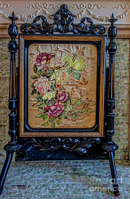 Photograph - Fireplace Screen 5360t by Doug Berry