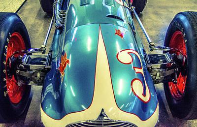 Firestone Indy Car Art Print by Josh Williams