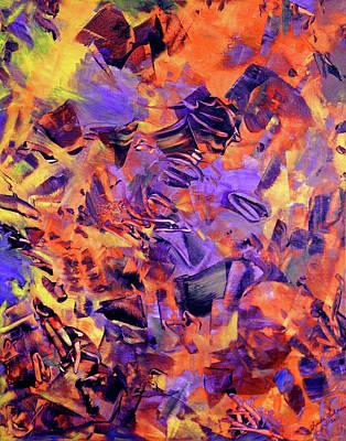 Painting Royalty Free Images - Firestorm Royalty-Free Image by Lynda Lehmann