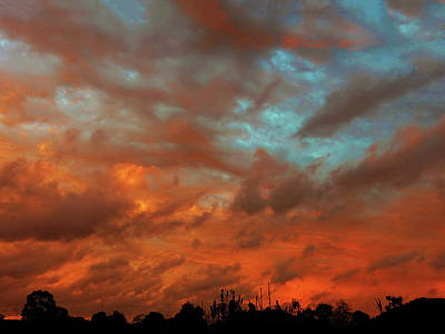 Photograph - Firestorm by Mark Blauhoefer