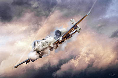 Air Force Digital Art - Firestorm by Peter Chilelli