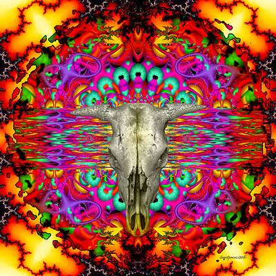Digital Art - Firestorm- by Robert Orinski