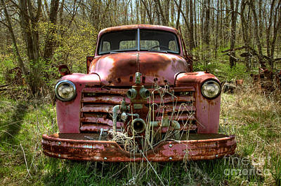 Photograph - Firetruck by Nicki McManus