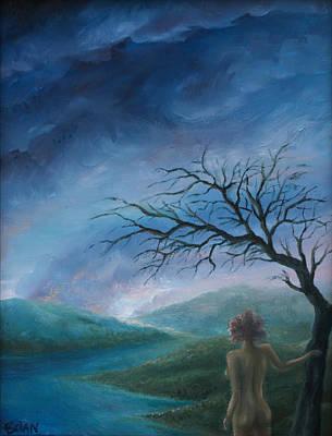 Painting - Firewatcher by Brian Nunes