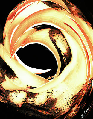 Painting - Firewater 4 by Sharon Cummings