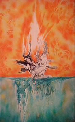 Firewater Art Print