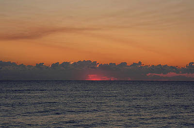 Photograph - Fire In The Sky by John Black