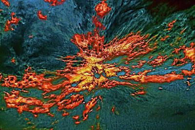 Digital Art - Firewater by John Haldane