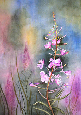 Painting - Fireweed by Marsha Karle