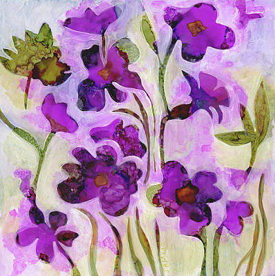 Painting - Fireweed Of The Forest by Julie Maas