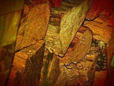 Firewood Art Print by MDR Photo's
