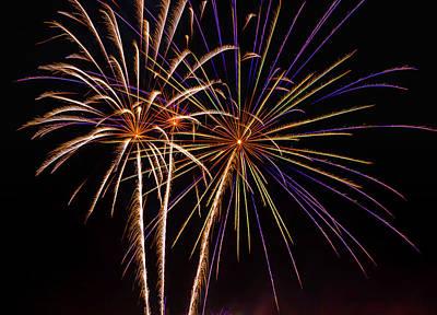 Photograph - Firework Beauty by Garry Gay