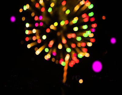 Photograph - Firework by Roger Bester