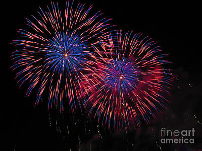 Photograph - Fireworks 05 by RLH Photography