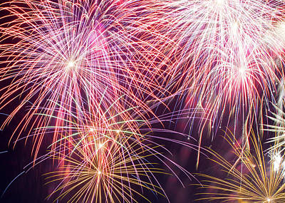 Photograph - Fireworks 070317 by Rospotte Photography