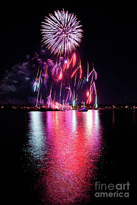 Photograph - Fireworks 1 by Butch Lombardi