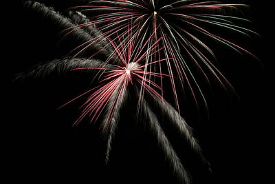 Photograph - Fireworks 1 by Ron Read