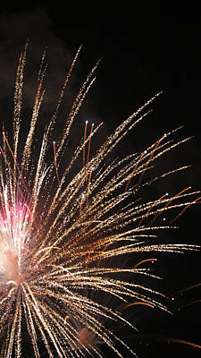 Photograph - Fireworks 11 2018 by Mary Bedy
