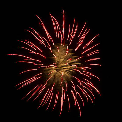Photograph - Fireworks 2 by Ellery Russell