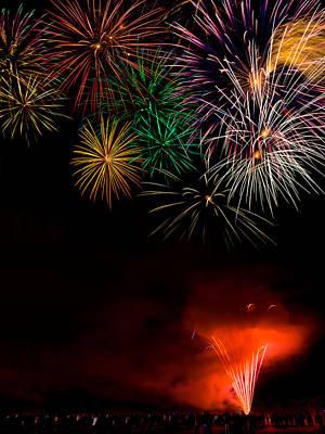 Fireworks 2 Original by Gary Maynard
