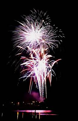 Keith Richards - Fireworks 2 by Paul Wilford