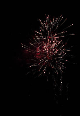 Photograph - Fireworks 2016 I by Suzanne Gaff