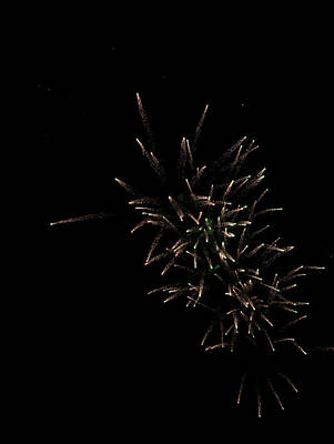 Photograph - Fireworks 2016 IIi by Suzanne Gaff