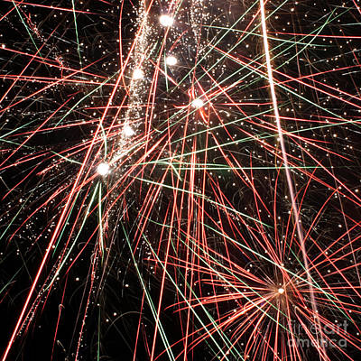 Photograph - Fireworks 4 by Balanced Art