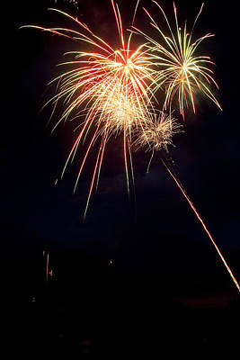 Photograph - Fireworks 49 by James BO  Insogna