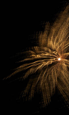 Photograph - Fireworks 5 by Ellery Russell