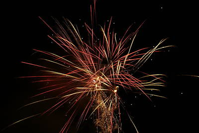 Photograph - Fireworks 5 by Ron Read