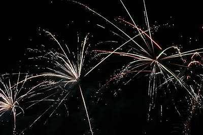 Photograph - Fireworks 8 by Ron Read