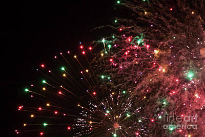 Photograph - Fireworks by Afrodita Ellerman