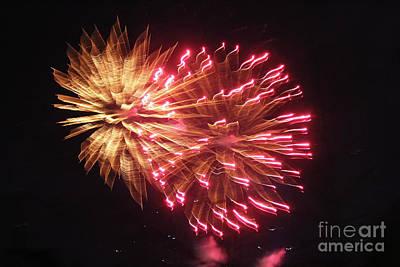 Photograph - Fireworks by Ann E Robson