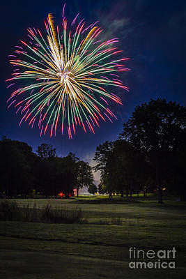 Photograph - Fireworks Beauty by Joann Long