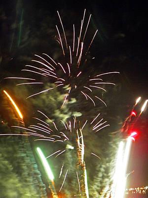 Photograph - Fireworks  by Elizabeth Hoskinson
