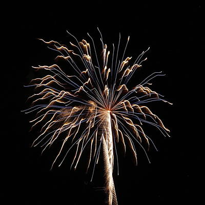 Photograph - Fireworks From A Boat - 13 by Jeffrey Peterson