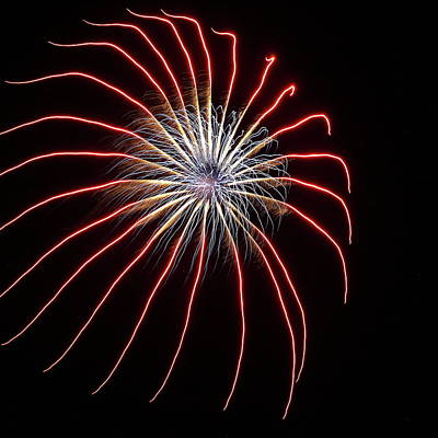 Photograph - Fireworks From A Boat - 17 by Jeffrey Peterson