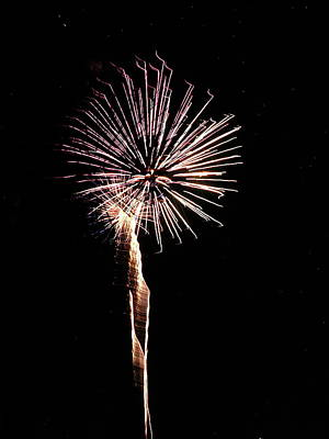 Photograph - Fireworks From A Boat - 29 by Jeffrey Peterson