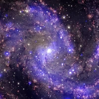 Photograph - Fireworks Galaxy by Steve Kearns