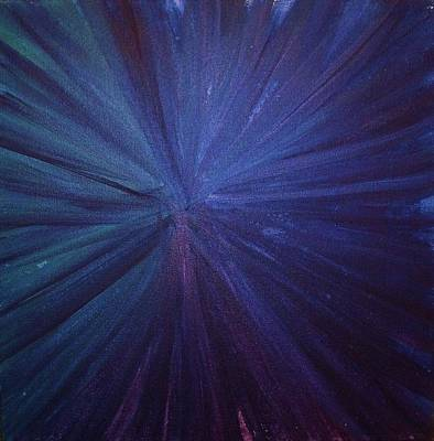 Painting - Fireworks I by Anna Villarreal Garbis