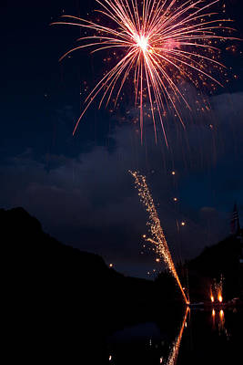 Photograph - Fireworks  by James BO  Insogna