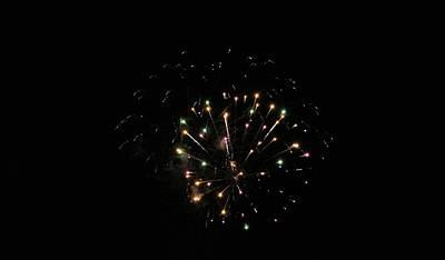 Photograph - Fireworks by Karen Silvestri