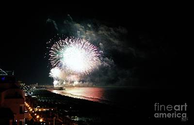 Fireworks Art Print by LDS Dya