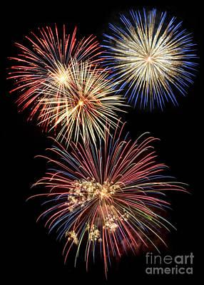Digital Art - Fireworks by Leah McPhail