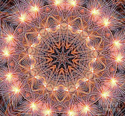 Photograph - Fireworks Mandala By Kaye Menner by Kaye Menner