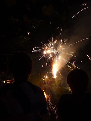 Photograph - Fireworks by Margie Avellino